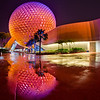 "Spaceship Earth at Epcot after the rain...I love post-rain reflections! <br /> <br /> This was one of my top 12 photos of 2012 on my blog! <a href=""http://www.disneytouristblog.com/top-12-disney-photos-of-2012/"">http://www.disneytouristblog.com/top-12-disney-photos-of-2012/</a>"