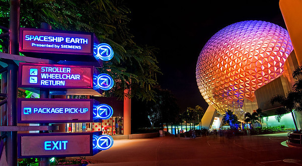 "EPCOT directional signs of the past...<br /> <br /> For retro-EPCOT photos, check this out: <a href=""http://www.disneytouristblog.com/epcot-30th-anniversary-guide/"">http://www.disneytouristblog.com/epcot-30th-anniversary-guide/</a>"