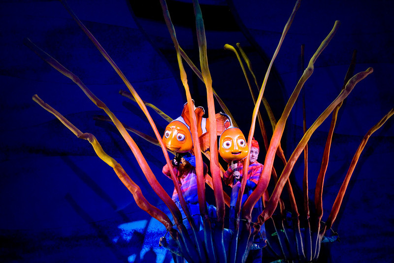 Finding Nemo, The Musical at Animal Kingdom in Disney World.