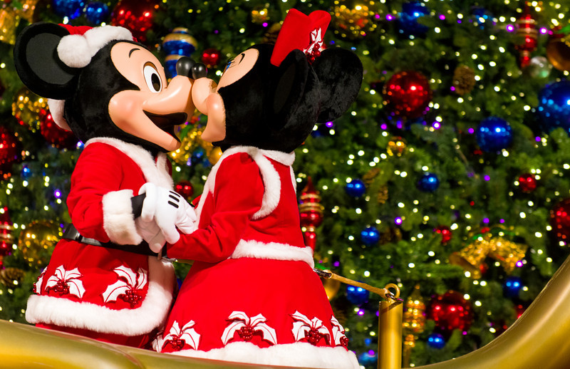 Christmas Minnie Mouse Disneyland.Hong Kong Disneyland Tombricker