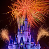 "Doesn't it look sort of like Cinderella Castle is sneezing, and snot is blowing out of the left and right ""nostrils"" of the Castle? Sick, I know...<br /> <br /> More fireworks photos: <a href=""http://www.disneytouristblog.com/fireworks-photos-40/"">http://www.disneytouristblog.com/fireworks-photos-40/</a>"