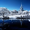 """Infrared photo of the Magic Kingdom at Walt Disney World. <br /> <br /> Tips for getting into infrared photography: <a href=""""http://www.disneytouristblog.com/infrared-photography-guide-tips/"""">http://www.disneytouristblog.com/infrared-photography-guide-tips/</a>"""