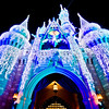 <b>Walt Disney World Resort Magic Kingdom Cinderella Castle Icicle Dream Lights</b>  Looks so beautiful this time of year!    More information, tips, and planning information for Christmas at Walt Disney World: http://www.disneytouristblog.com/disney-world-christmas-ultimate-guide/