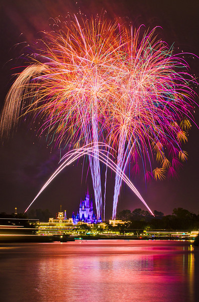 "The Transportation and Ticket Center at Walt Disney World offers one of the best viewing places of the Wishes! fireworks show. The bursts appear larger than life here, and best of all, you can watch the fireworks for FREE here!<br /> <br /> Other WDW Freebies: <a href=""http://www.disneytouristblog.com/free-things-disney-world/"">http://www.disneytouristblog.com/free-things-disney-world/</a>"