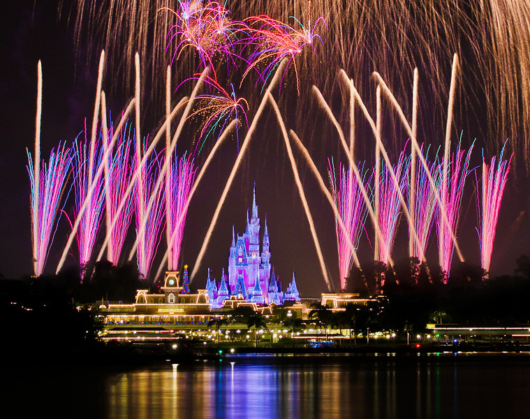 """Cakes are nice, but if I could have one thing every year """"in honor of"""" my birthday, it would be fireworks. What would you want? <br /> <br /> Tips for Celebrating at WDW: <a href=""""http://www.disneytouristblog.com/celebrating-disney-world/"""">http://www.disneytouristblog.com/celebrating-disney-world/</a>"""