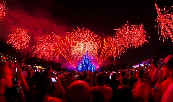 """Special version of """"Wishes!"""" for Walt Disney World's 40th Anniversary. The 30th Anniversary of the Disney-MGM Studios is this year...anyone expecting anything? <br /> <br /> More photos from WDW's 40th: <a href=""""http://www.disneytouristblog.com/disney-world-40th-anniversary-recap-photos-video/"""">http://www.disneytouristblog.com/disney-world-40th-anniversary-recap-photos-video/</a>"""