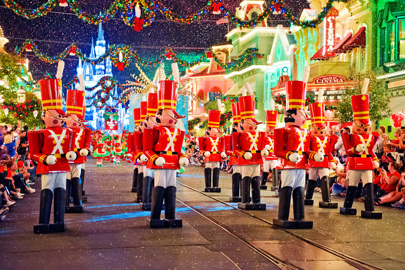 magic kingdom tombricker - Disney Christmas Party 2015