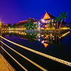A tranquil night at Disney's Polynesian Resort!