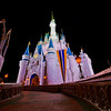 """Ultra wide angle photo of Cinderella Castle shot with the Nikon 14-24mm f/2.8 lens. <br /> <br /> Lens review: <a href=""""http://www.disneytouristblog.com/nikon-14-24mm-f2-8-lens-review/"""">http://www.disneytouristblog.com/nikon-14-24mm-f2-8-lens-review/</a>"""