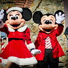 <b>Walt Disney World Resort Magic Kingdom Mickey's Once Upon A Christmastime Parade</b>  Mickey Mouse and Minnie Mouse in their holiday finery! They look ready for Christmas!  More information, tips, and planning information for Christmas at Walt Disney World: http://www.disneytouristblog.com/disney-world-christmas-ultimate-guide/