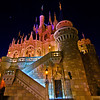"Ultra wide angle side view of Cinderella Castle with special lighting during Mickey's Not So Scary Halloween Party.<br /> <br /> <a href=""http://www.disneytouristblog.com/mickeys-not-so-scary-halloween-party-review-tips/"">http://www.disneytouristblog.com/mickeys-not-so-scary-halloween-party-review-tips/</a>"