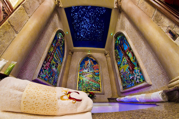 """What do you think...nicest bath tub ever???<br /> <br /> See more photos from the Cinderella Castle Suite at Walt Disney World: <a href=""""http://www.disneytouristblog.com/cinderella-castle-suite-tour-photos/"""">http://www.disneytouristblog.com/cinderella-castle-suite-tour-photos/</a>"""