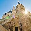"Inside Cinderella Castle is the rarely-seen Castle Suite!<br /> <br /> Our Cinderella Castle Suite photo tour:  <a href=""http://www.disneytouristblog.com/cinderella-castle-suite-tour-photos/"">http://www.disneytouristblog.com/cinderella-castle-suite-tour-photos/</a>"