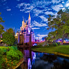 "On this particular night at Walt Disney World, Cinderella Castle in the Magic Kingdom was lit up by a brilliant full moon, rather than the artificial light normally on the Castle. <br /> <br /> Read more: <a href=""http://www.disneytouristblog.com/cinderella-castle-by-the-light-of-the-moon/"">http://www.disneytouristblog.com/cinderella-castle-by-the-light-of-the-moon/</a>"