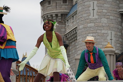 Dancing to the beat of Tiana