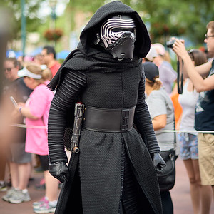 Kylo out and about