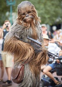 Chewbacca wishing you a Happy Friday