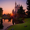 """Sunrise over Cinderella Castle at Tokyo Disneyland. This is actually the inverse of my #1 Cinderella Castle photo spot in the Magic Kingdom (and is probably my #1 photo spot in Tokyo). <br /> <br /> Top 10 Cinderella Castle Photo Spots: <a href=""""http://www.disneytouristblog.com/cinderella-castle-photo-spots/"""">http://www.disneytouristblog.com/cinderella-castle-photo-spots/</a>"""