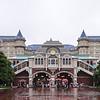 Tokyo Disneyland Hotel & Monorail station.