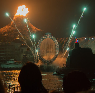 Day 5, July 2nd - DisneySea, Sinbad, Fantasmic!
