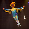 Bird lady from the Lion King show. We had the worst seats ever. The kid in front of me fell asleep at the start of the show and tumbled backwards out of his seat onto me.