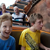 The boys wanted to go on Big Thunder Mountain Railroad as their first MK ride.