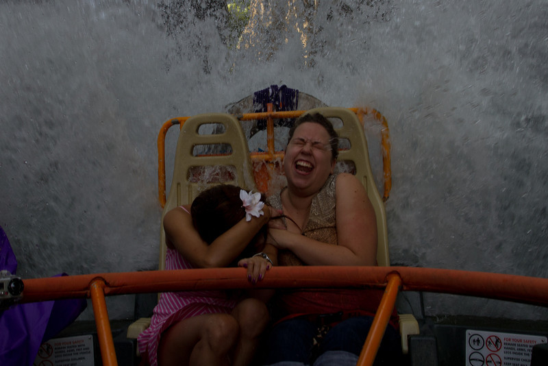 Some strangers on the Kali River Rapids ride.