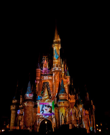Cinderella Sandcastle