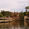 Haunted Mansion and the Rivers of America