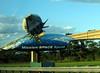 Billboard for Mission Space near entrance to Walt Disney World