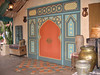Hidden Mickey door in Adventureland
