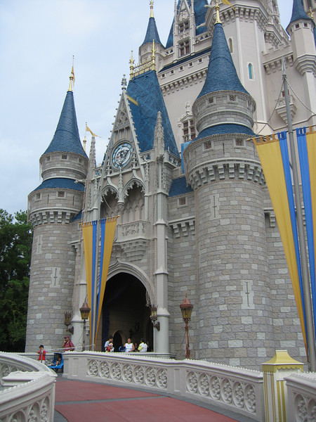 Entrance to Cinderella Castle