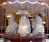 Fountain in the Dolphin Resort lobby