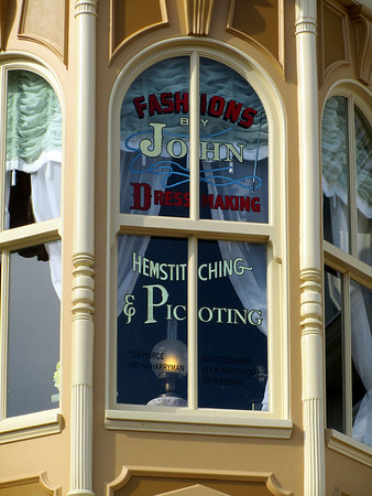Window in Magic Kingdom