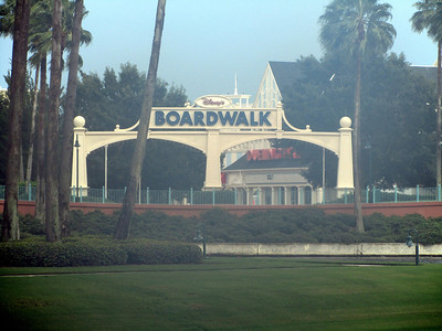 Entrance to the Boardwalk