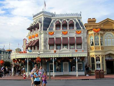 Town Square in Magic Kingdom