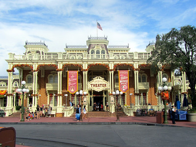 Town Square Theater in Magic Kingdom