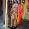 Statue in Frontierland