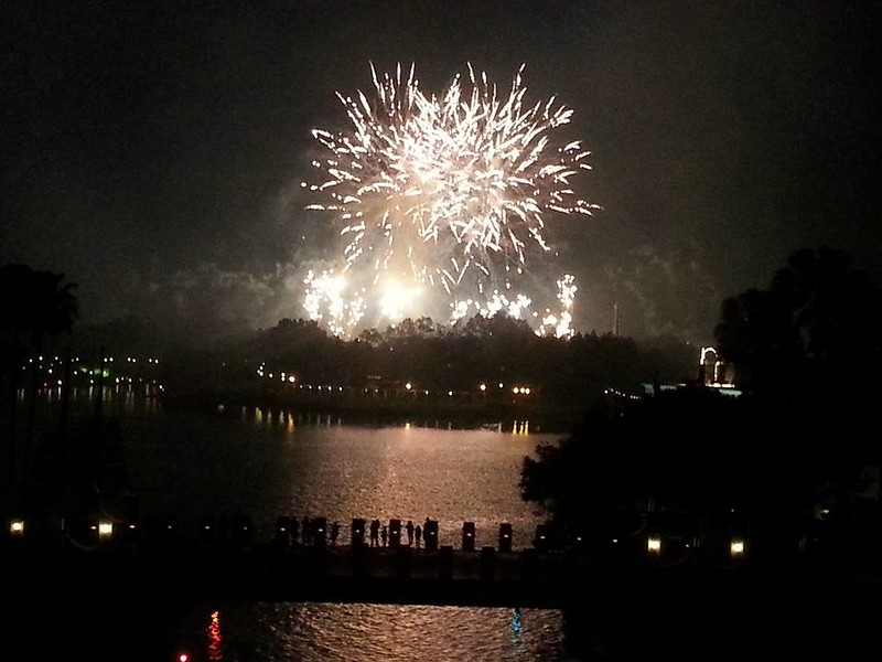 Illuminations from the Dolphin resort