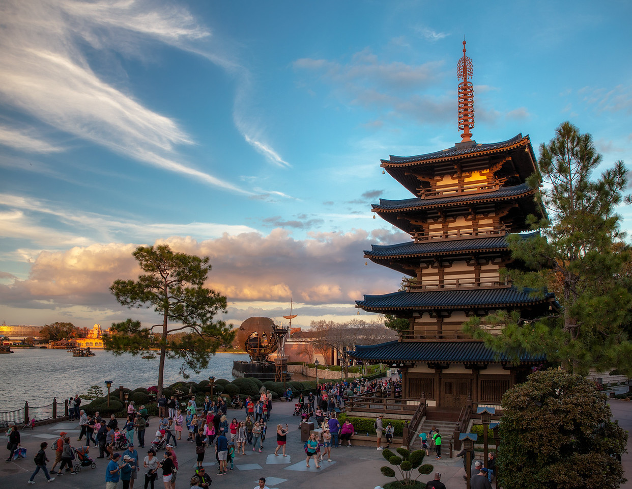 Japan at Epcot Center