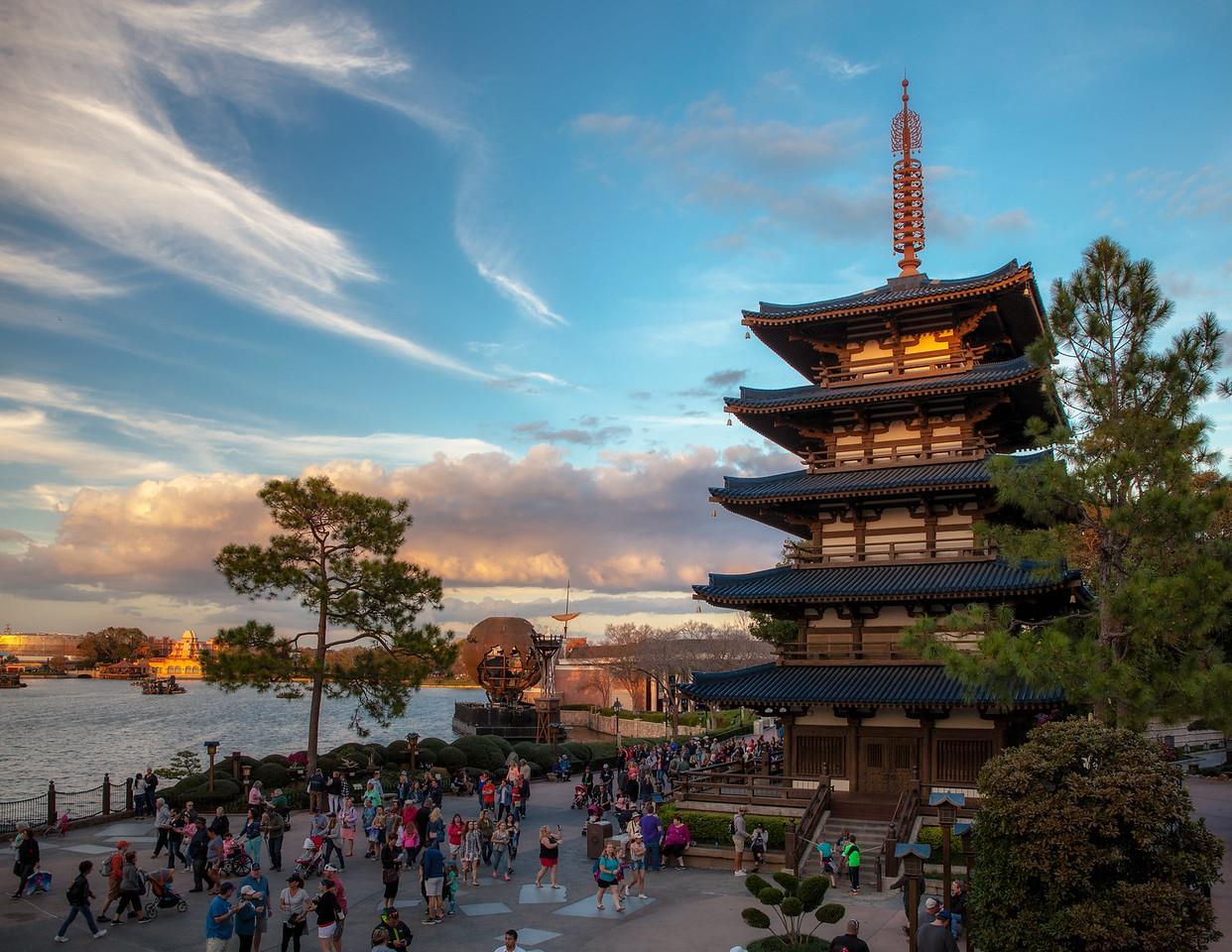 Japan at Epcot Center