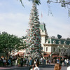 Disneyland Main Street Christmas tree.