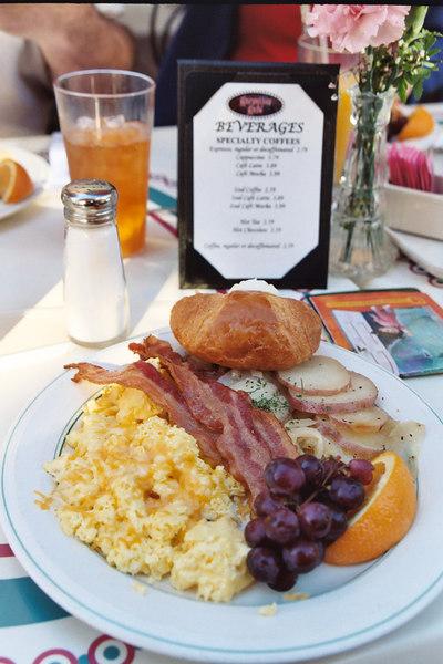 breakfast on Main Street