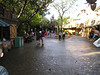 adventureland early in the morning--compare to crowd later in the day