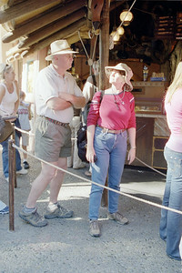 Linda and Paul at Bengal Barbeque