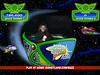 Ellen zaps \'em in the Buzz Lightyear Astro Blasters ride. My high score for the weekend was 176,000 or so. The top ten were in the range of 700,000 or more as of 10:00 Sunday morning for the day. Yoiks.