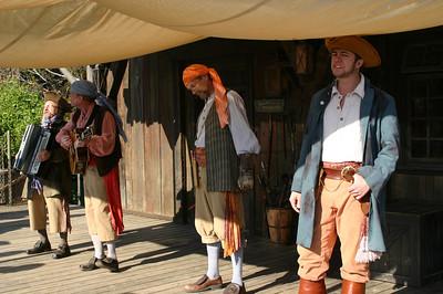 Singing Pirates.