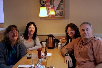 Breakfast at IHOP across from Disneyland.