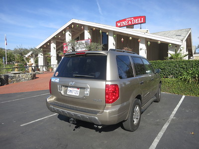 Casa De Wine & Deli and our vehicle