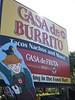 Casa de Burrito sign